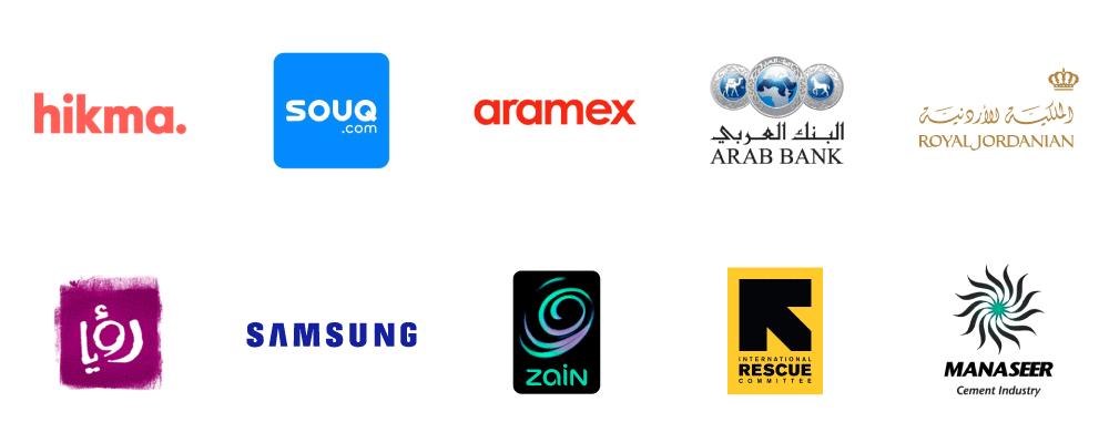 Salaries from Jordan's top Companies