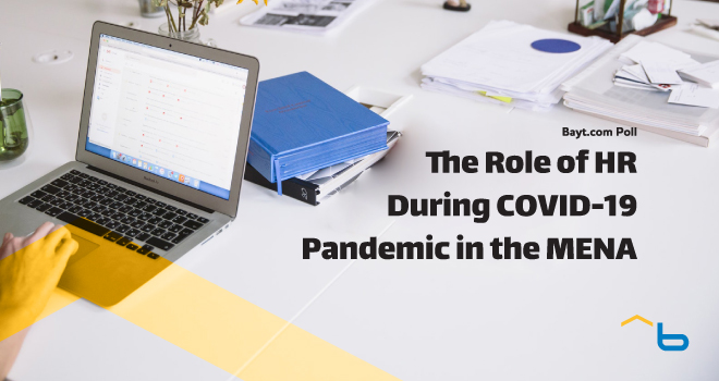 Bayt.com Poll: The Role of HR During COVID-19 Pandemic in the MENA